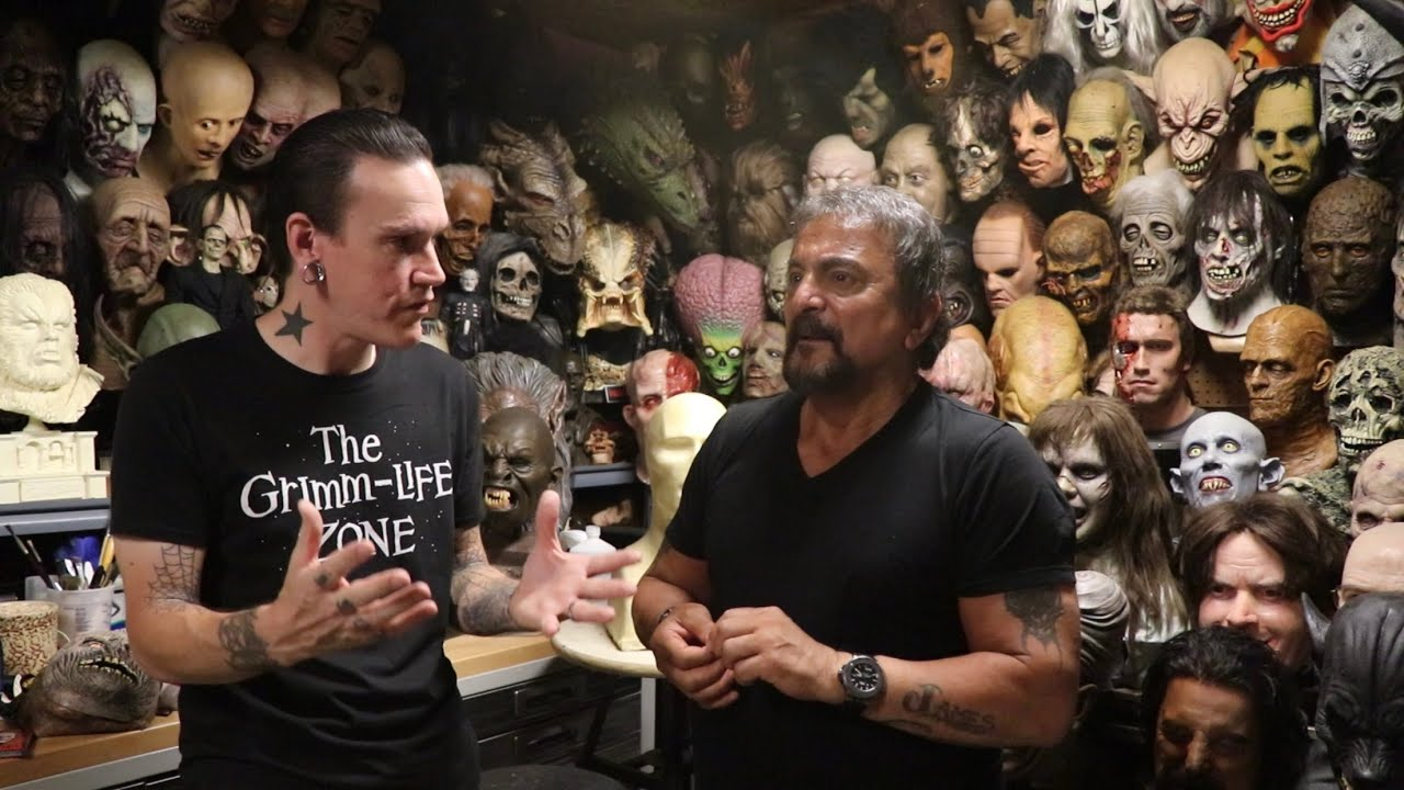 Tom Savini - Private Tour of His House & School