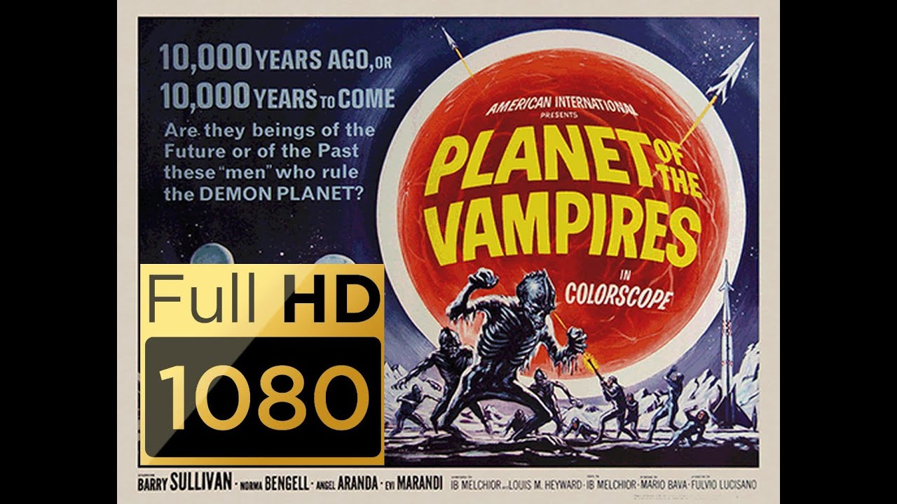 "Planet der Vampire (1965) : : deutscher Ton + HD 1080p # Original: ""Terrore nello spazio"""