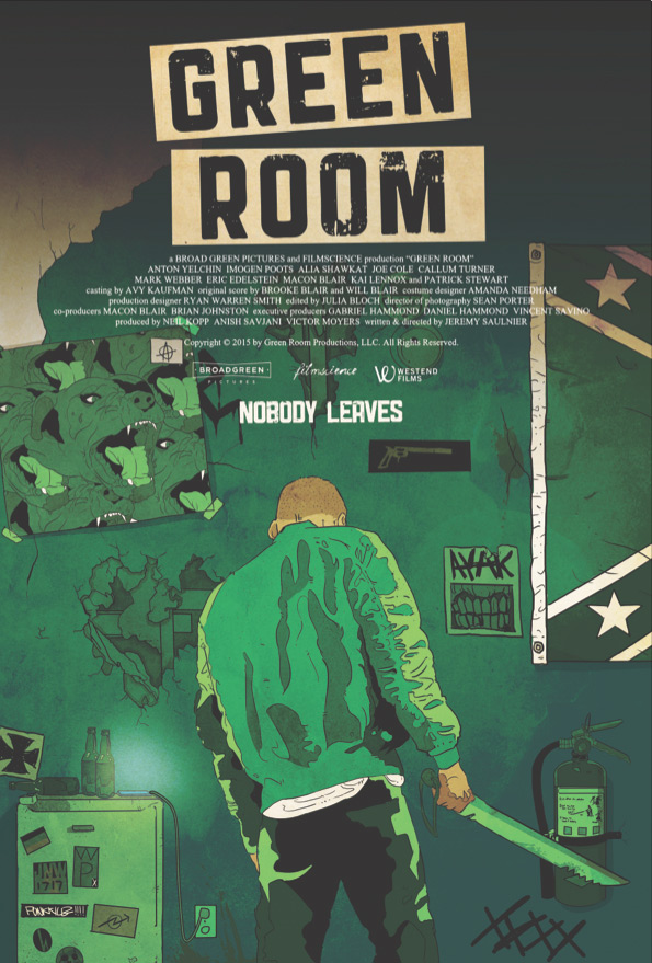 Green Room One Way In No Way Out Horrorfilme Der